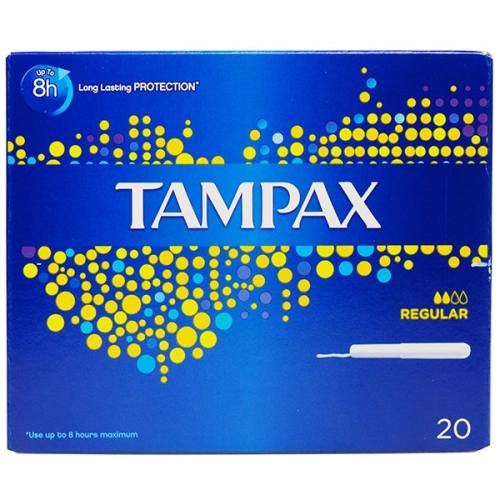 تامپون تامپکس مدل Regular بسته 20 عددی
