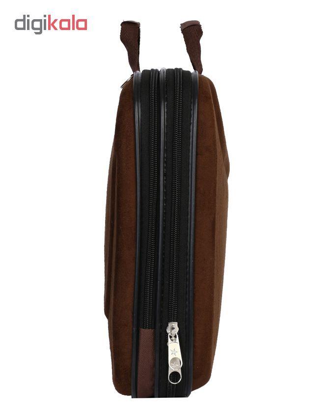 کیف اداری مردانه رویال چرم مدل BF20-Brown main 1 1