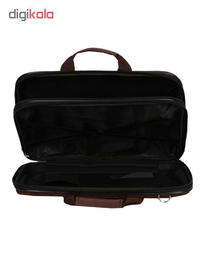 کیف اداری مردانه رویال چرم مدل BF20-Brown main 1 4