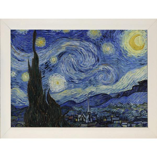 تابلو چاپ سی طرح شب پر ستاره کد W001