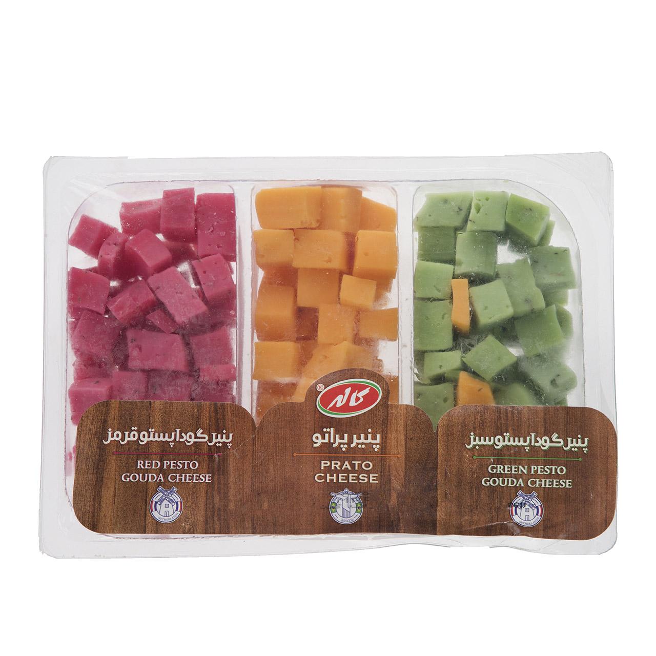 پنیر گودا پستو سبز / قرمز / پراتو کاله مقدار 300 گرم