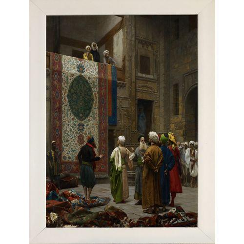 تابلو طرح گالری هنری پیکاسو قالی فروش قاهره کد W002