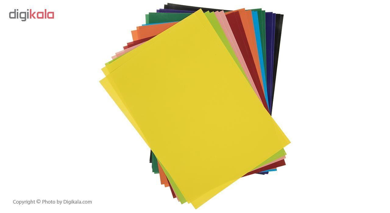 کاغذ رنگی 20 برگ ره آورد کد 05 سایز A4 main 1 1