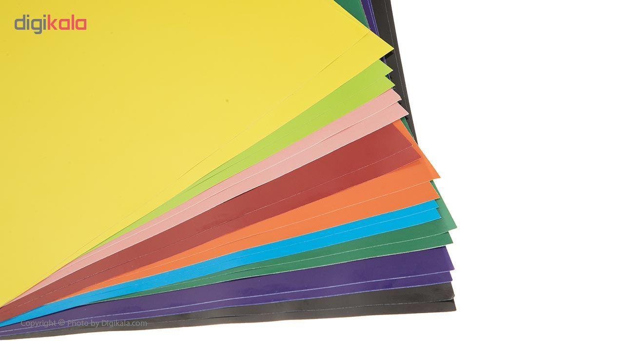 کاغذ رنگی 20 برگ ره آورد کد 05 سایز A4 main 1 2
