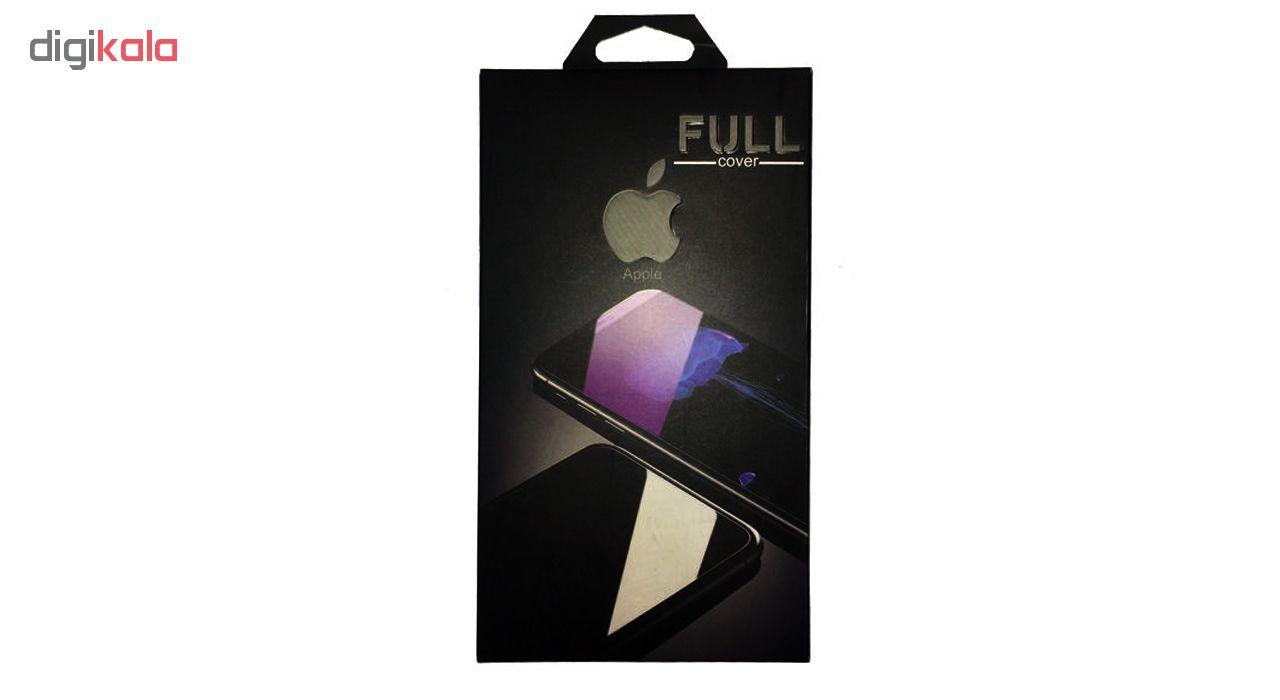 محافظ صفحه نمایش شیشه ای مات مدل Full Cover مناسب برای گوشی موبایل اپل iPhone 6/6S Plus main 1 8
