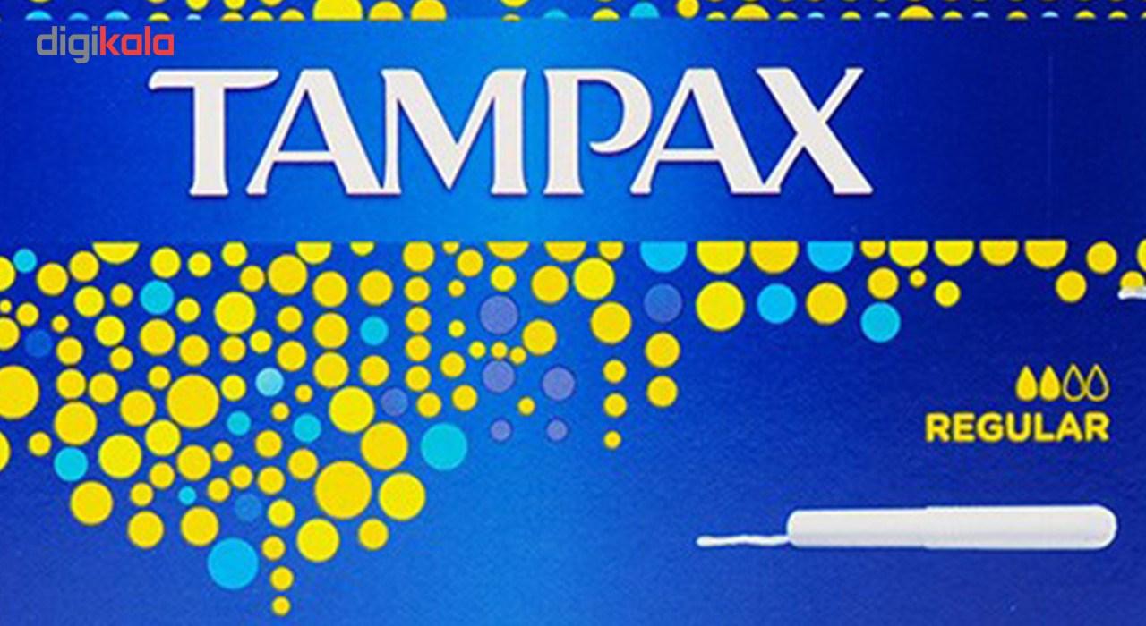 تامپون تامپکس مدل Regular بسته 20 عددی main 1 2