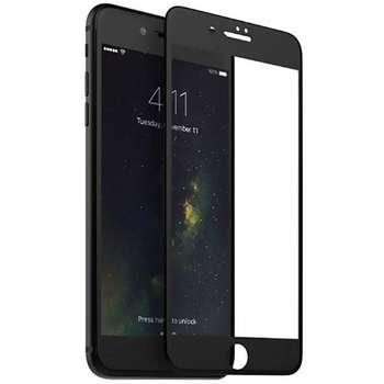 محافظ صفحه نمایش شیشه ای مات مدل Full Cover مناسب برای گوشی موبایل اپل iPhone 6/6S