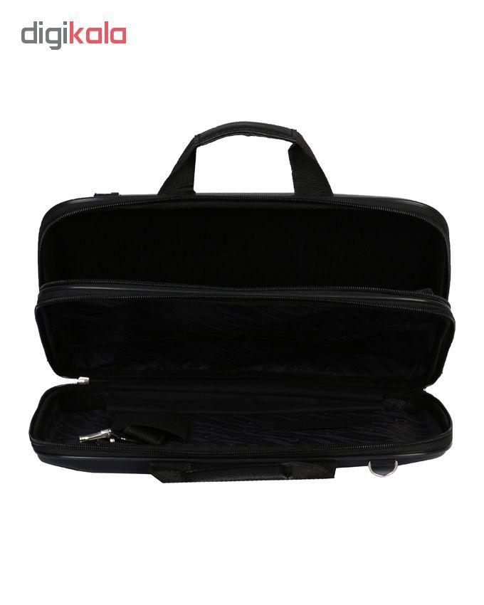 کیف اداری مردانه رویال چرم کدBF31-Black main 1 5