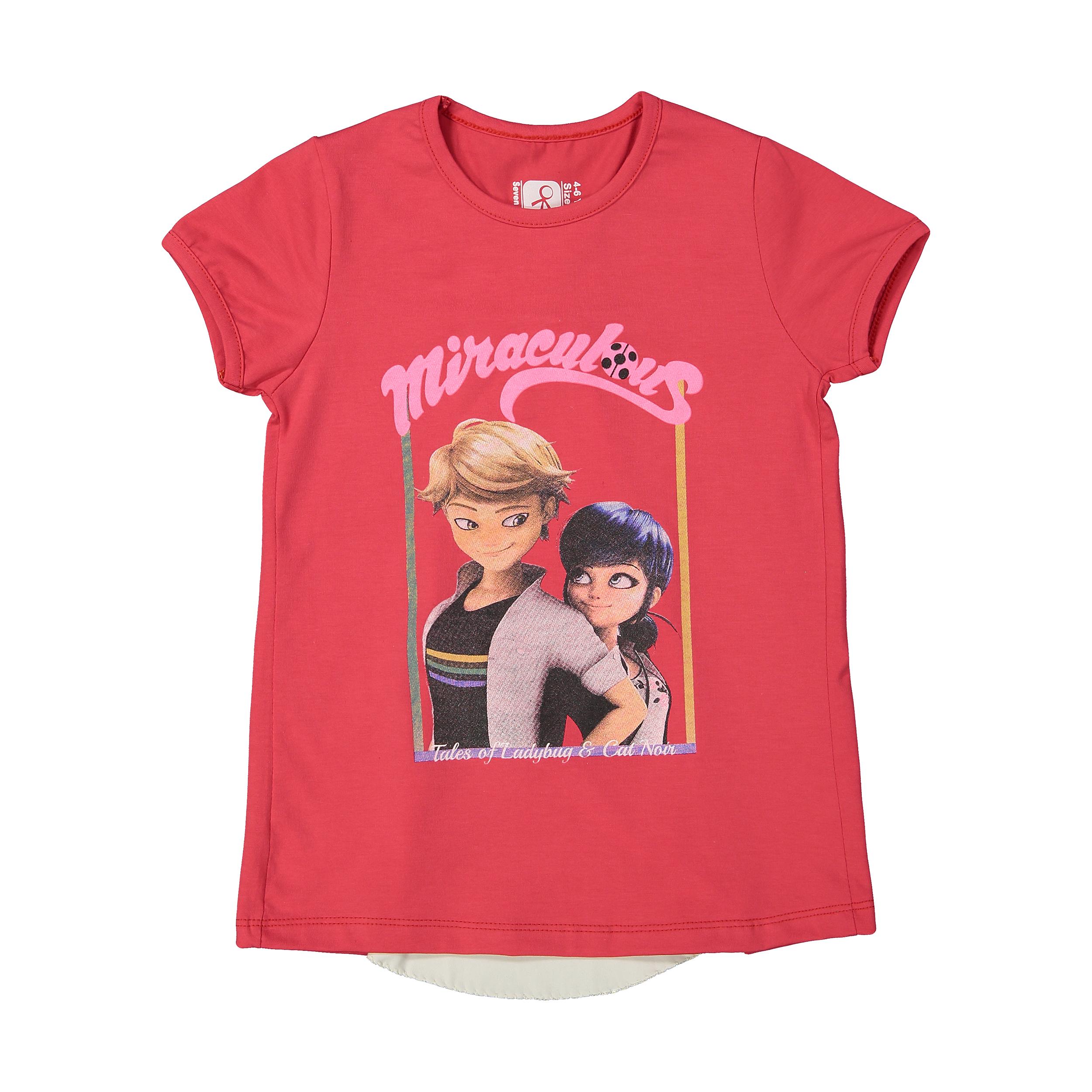 تی شرت دخترانه سون پون مدل 1391342-88