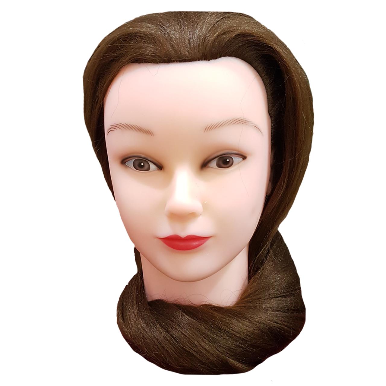 مانکن مو مخصوص شینیون و بافت کد03