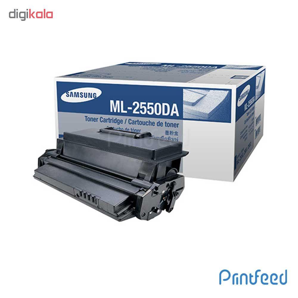 قیمت                      تونرمشکی سامسونگ ML 2550
