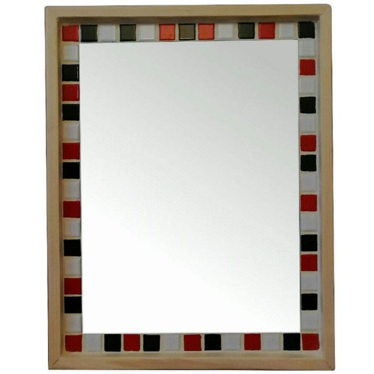 آینه دکوراتیو مدل سیاه سفید 22
