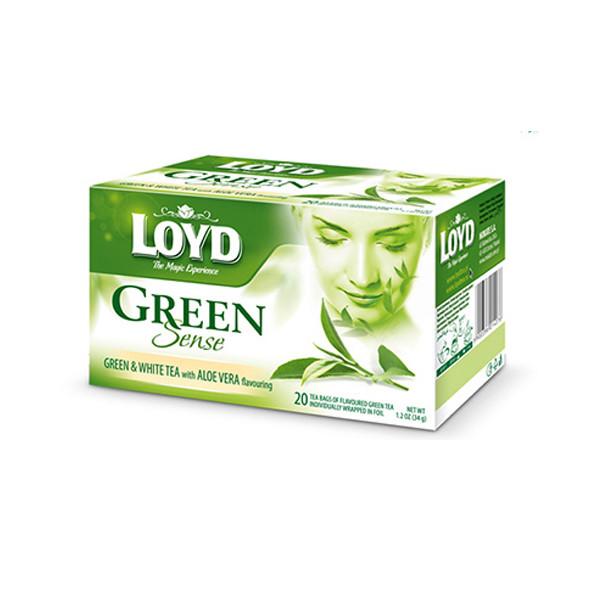 چای سبز لوید مدل الوئه ورا بسته 20 عددی