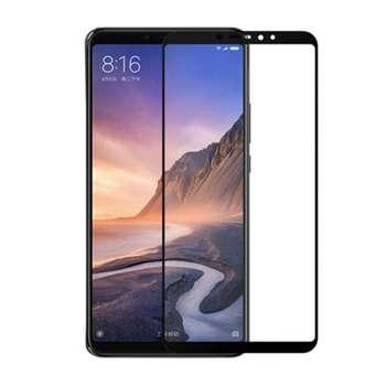 محافظ صفحه نمایش شیشه ای تمام چسب مناسب برای گوشی موبایل شیائومی Mi Max 3