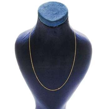 زنجیر طلا 18 عیار کانیار گالری مدل SH14