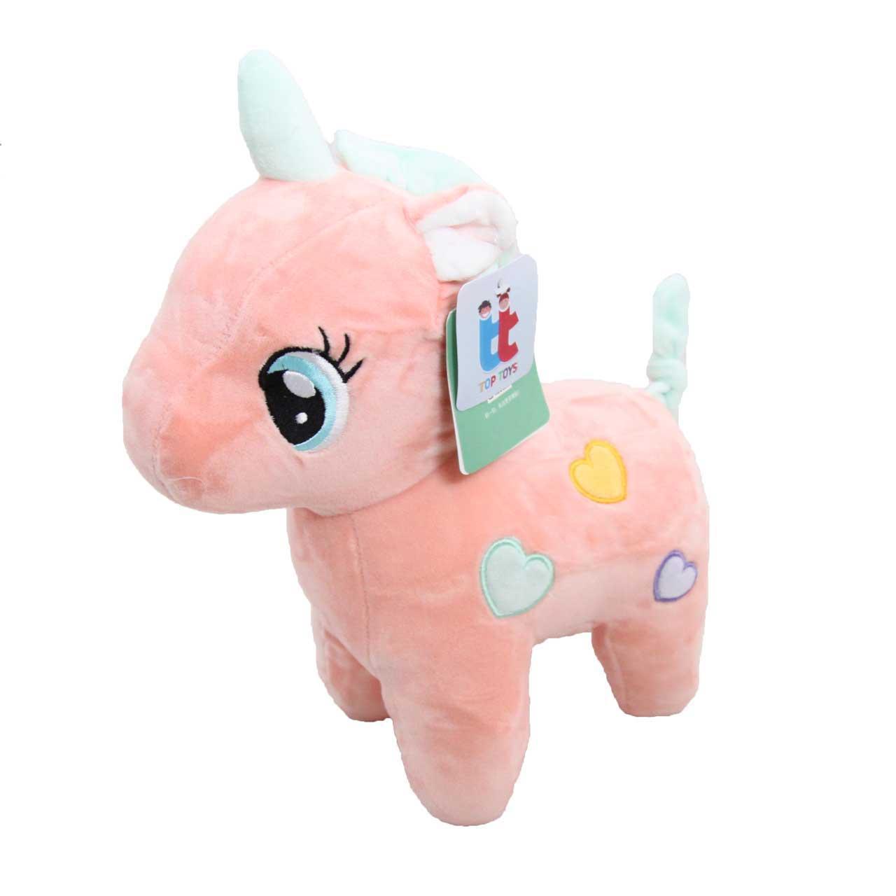 عروسک تاپ تویز طرح اسب پونی تاج دار ارتفاع 27 سانتی متر