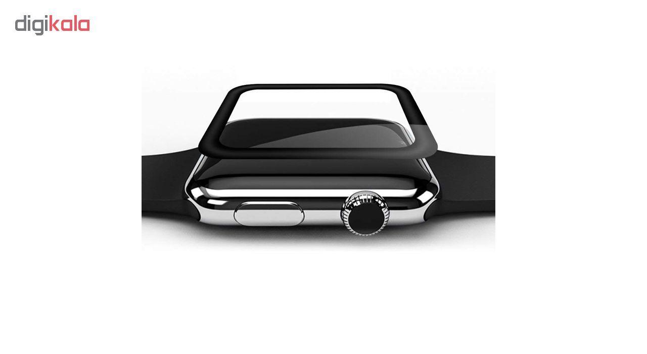 محافظ صفحه نمایش مدل Tempered 3D مناسب برای اپل واچ 42 میلی متری main 1 2