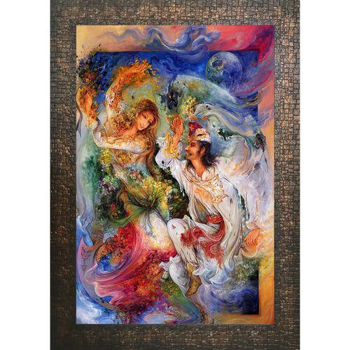 تابلو گالری هنری پیکاسو طرح درد و عشق کد A003