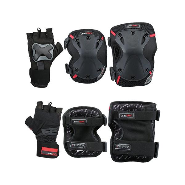 لوازم ایمنی اسکیت سبا مدل Protective 3 Pack Pro Large Size
