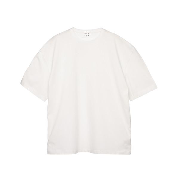 تیشرت آستین کوتاه مردانه کوی مدل 375 رنگ سفید