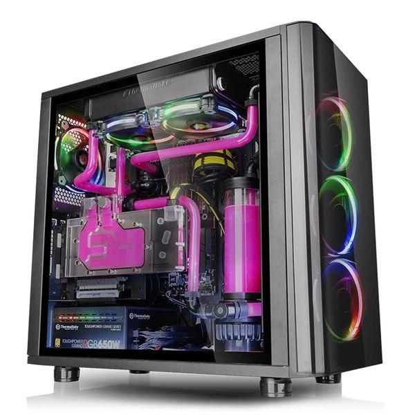 کیس کامپیوتر ترمالتیک مدل view31 Tempered Glass RGB
