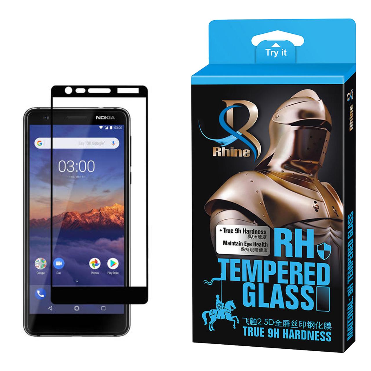 خرید                     محافظ صفحه نمایش راین مدل R_9 مناسب برای گوشی موبایل نوکیا 3.1
