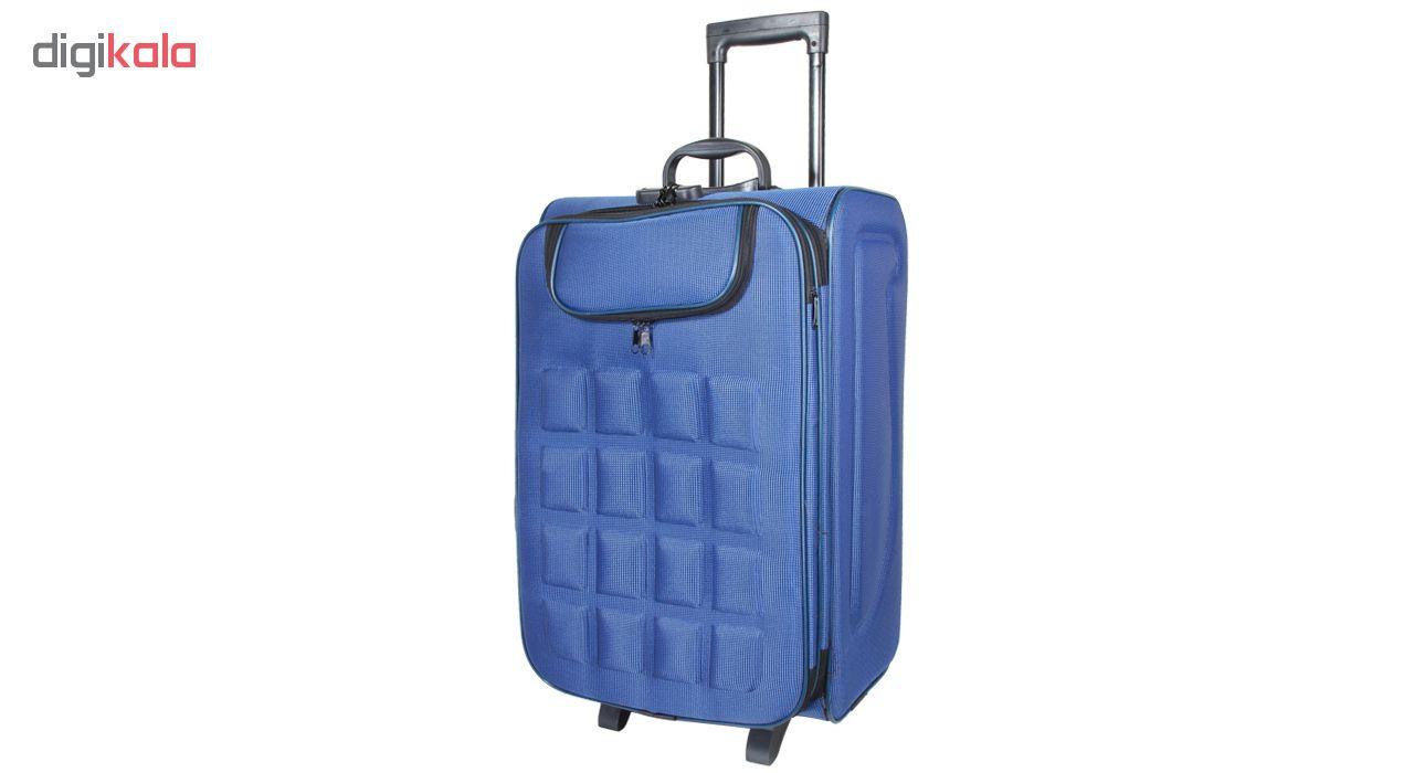چمدان مدل 21-1005 سایز 24