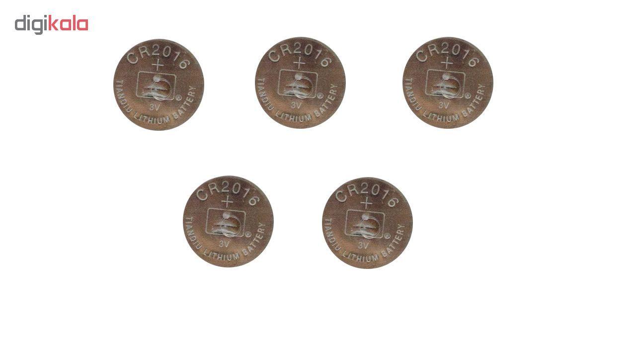 باتری سکه ای تیانکیو مدل CR2016 بسته 5 عددی main 1 2