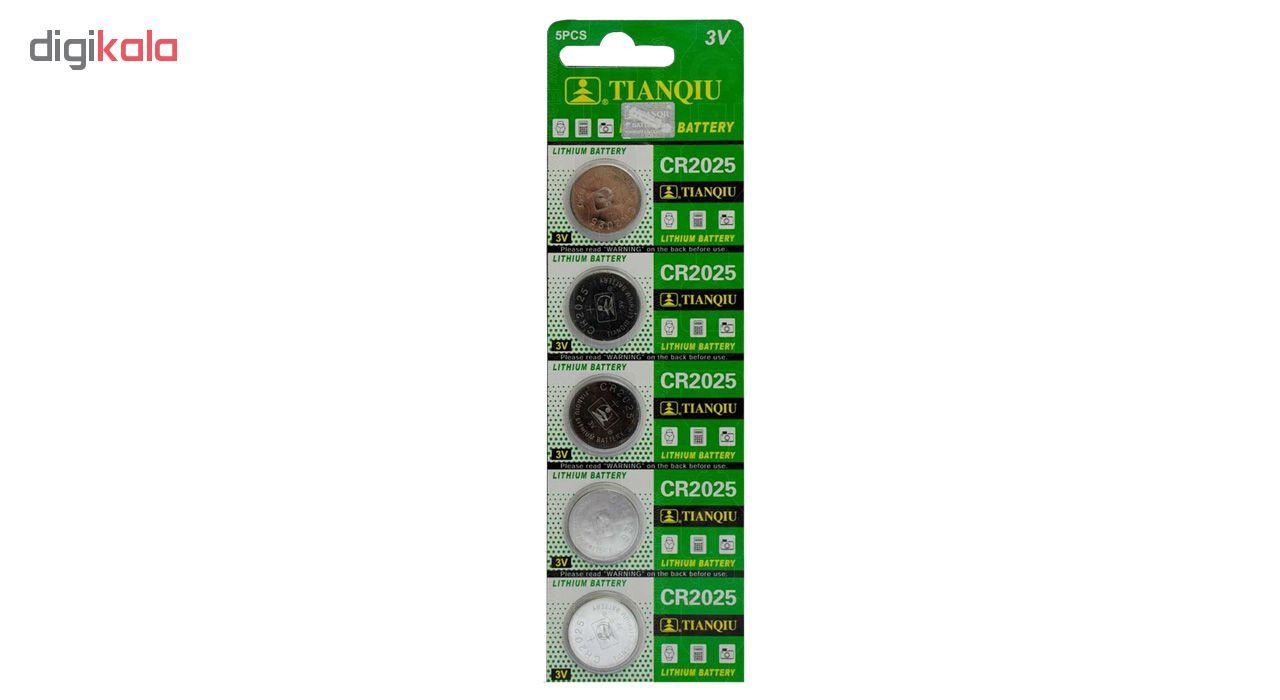 باتری سکه ای تیانکیو مدل CR2025 بسته 5 عددی main 1 1