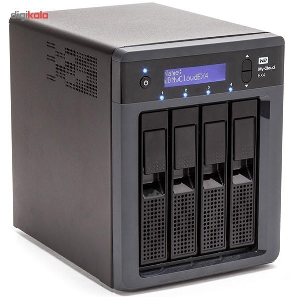 ذخیره ساز تحت شبکه وسترن دیجیتال مدل مای کلاود EX4 ظرفیت 12 ترابایت