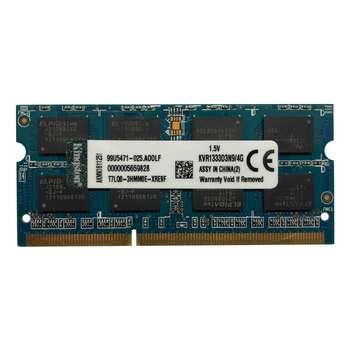 رم لپ تاپ کینگستون مدل 10600 DDR3 1333MHz ظرفیت 4 گیگابایت