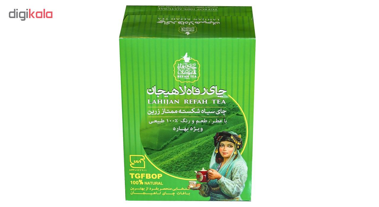 بسته چای سیاه رفاه لاهیجان مدل شکسته ممتاز زرین بهاره main 1 1