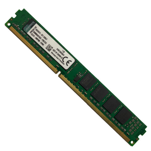 رم کامپیوتر کینگستون مدل 10600 DDR3 1333MHz ظرفیت 4 گیگابایت |