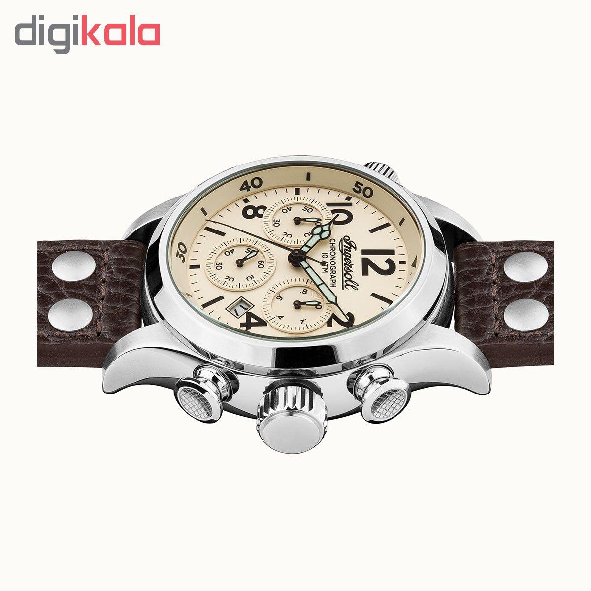 کد تخفیف                                      ساعت مچی عقربه ای مردانه اینگرسل مدل I02002