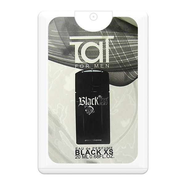 ادکلن جیبی مردانه تات مدل Black XS حجم 20 میلی لیتر