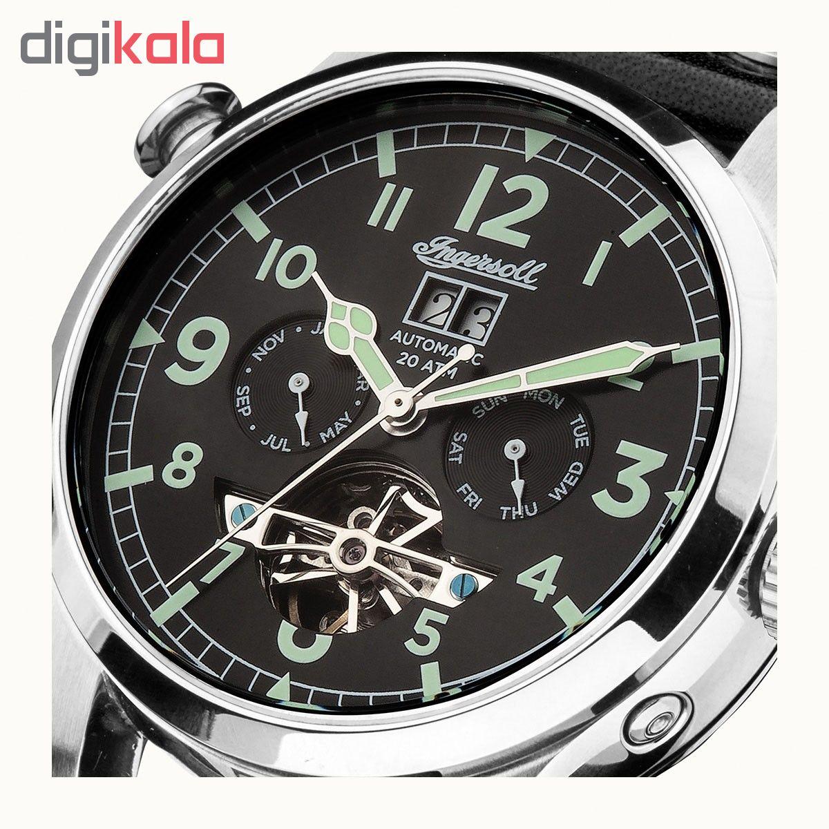 کد تخفیف                                      ساعت مچی عقربه ای مردانه اینگرسل مدل I02102