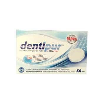 قرص تمیز کننده دندان مصنوعی دنتی پور بسته 30 عددی