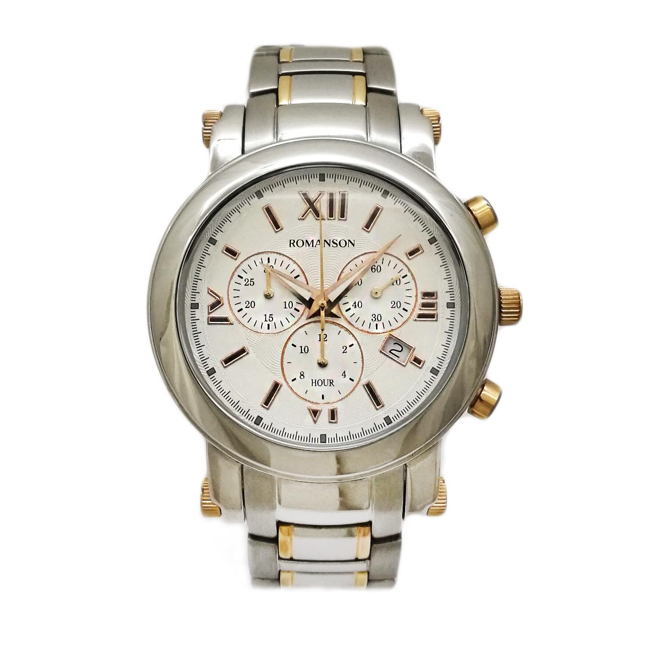 ساعت مچی عقربه ای مردانه رومانسون مدل TM8903PM1JAS6R
