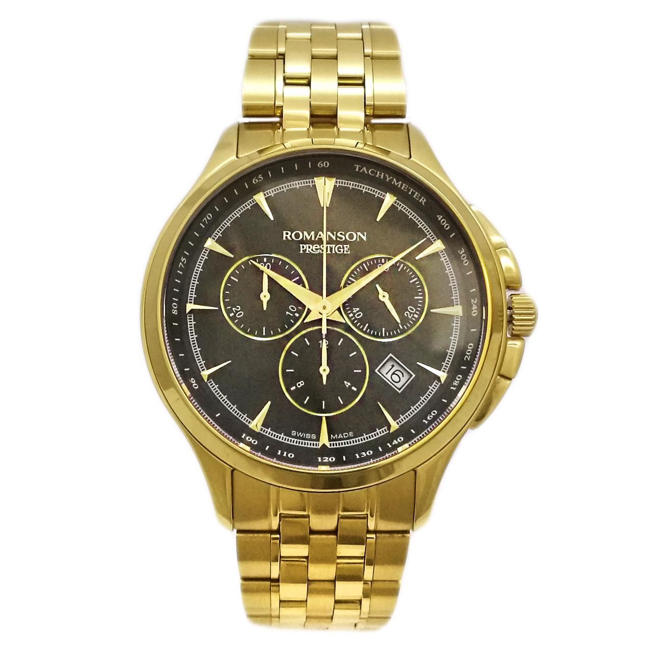 ساعت مچی عقربه ای مردانه رومانسون مدل TM3258HM1GA31G 28