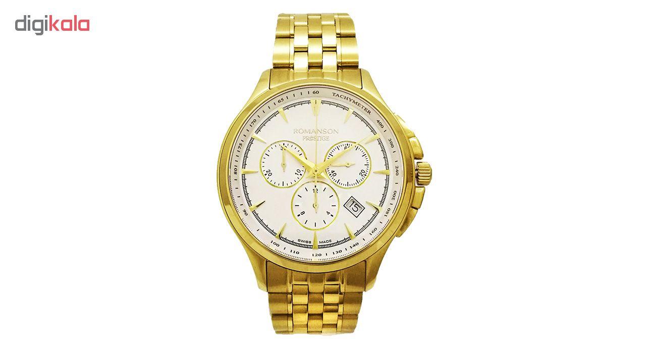 خرید ساعت مچی عقربه ای مردانه رومانسون مدل TM3258HM2GA31G