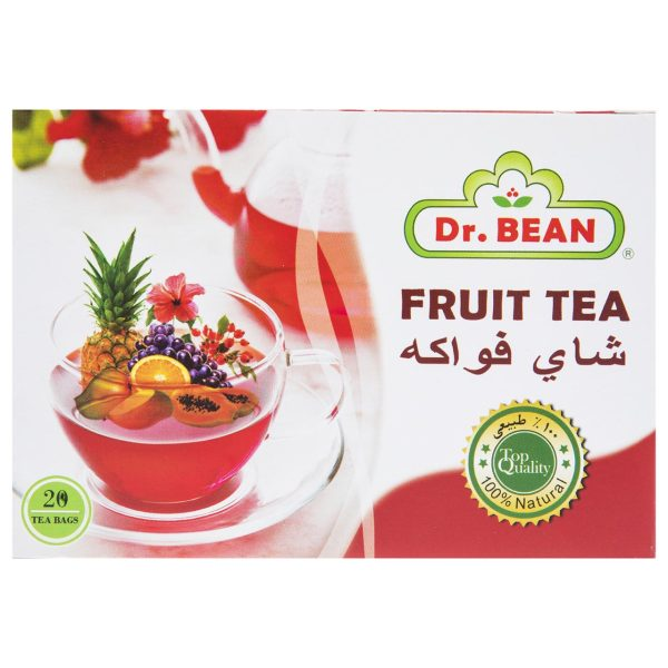دمنوش میوه ای استوایی دکتر بین بسته 20 عددی