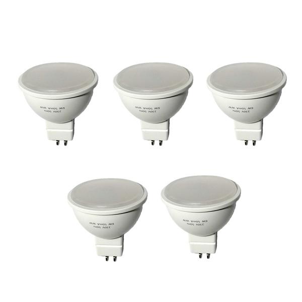 لامپ ال ای دی 6 وات هالوژن خزرشید بسته 5 عددی