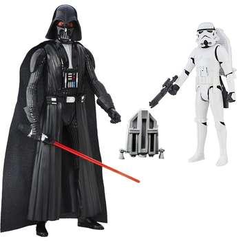 اکشن فیگور هاسبرو مدل Storm Trooper and Darth Vader بسته 2 عددی