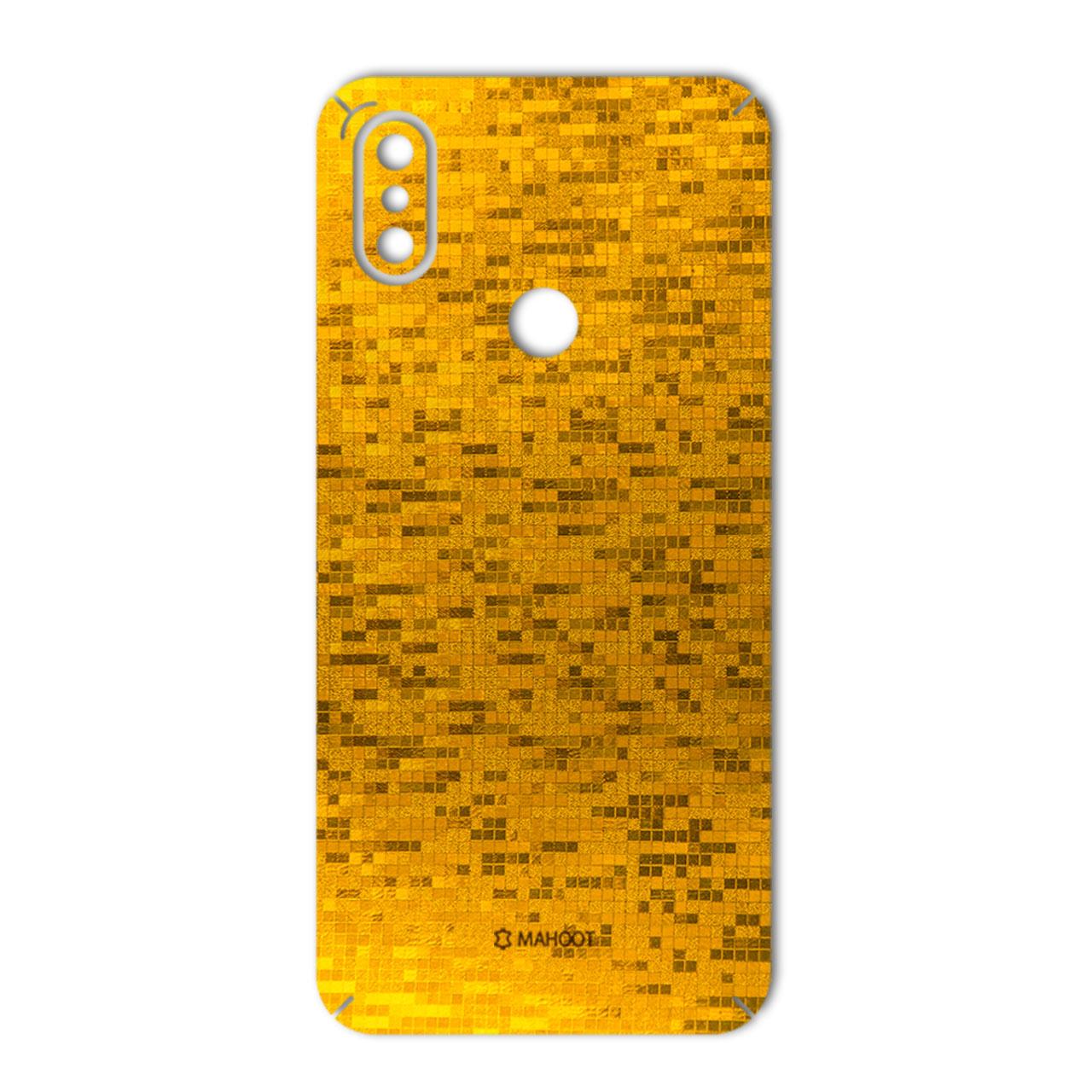 برچسب تزئینی ماهوت مدل  Gold-pixel Special مناسب برای گوشی Xiaomi Mi A2-Mi 6X