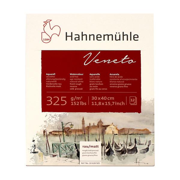 بلوک آبرنگ دفترچهای هانه موله مدل Venetoسایز  40×30  سانتیمتر 12 برگ