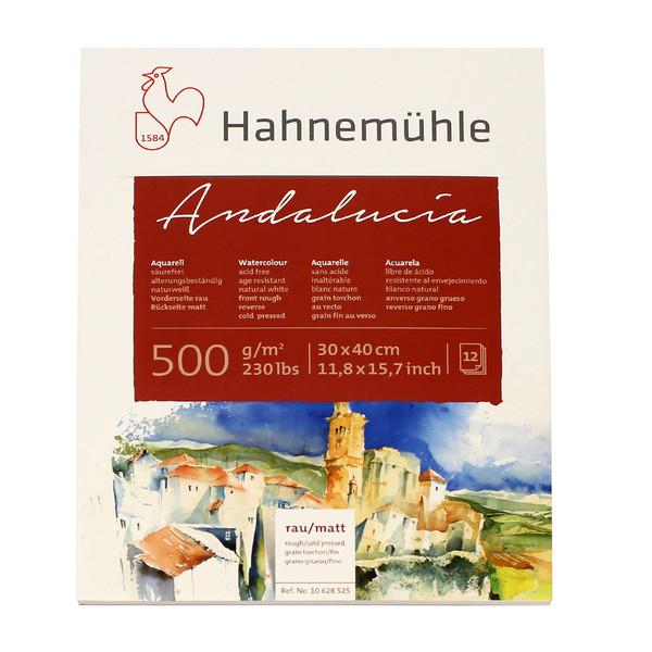 بلوک آبرنگ دفترچهای هانه موله مدلAndalucia  سایز 40 × 30 سانتیمتر 12 برگ