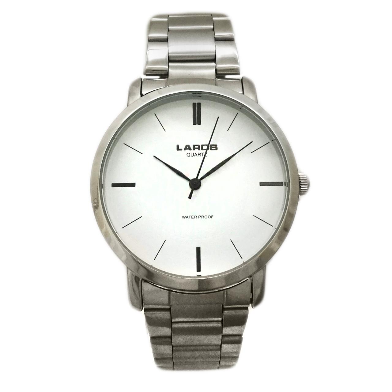 ساعت مچی عقربه ای لاروس مدل ساده 0817-79945 12