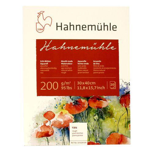 بلوک آبرنگ دفترچهای هانه موله مدل Hahnemuleh  سایز 40 × 30.سانتیمتر 20برگ