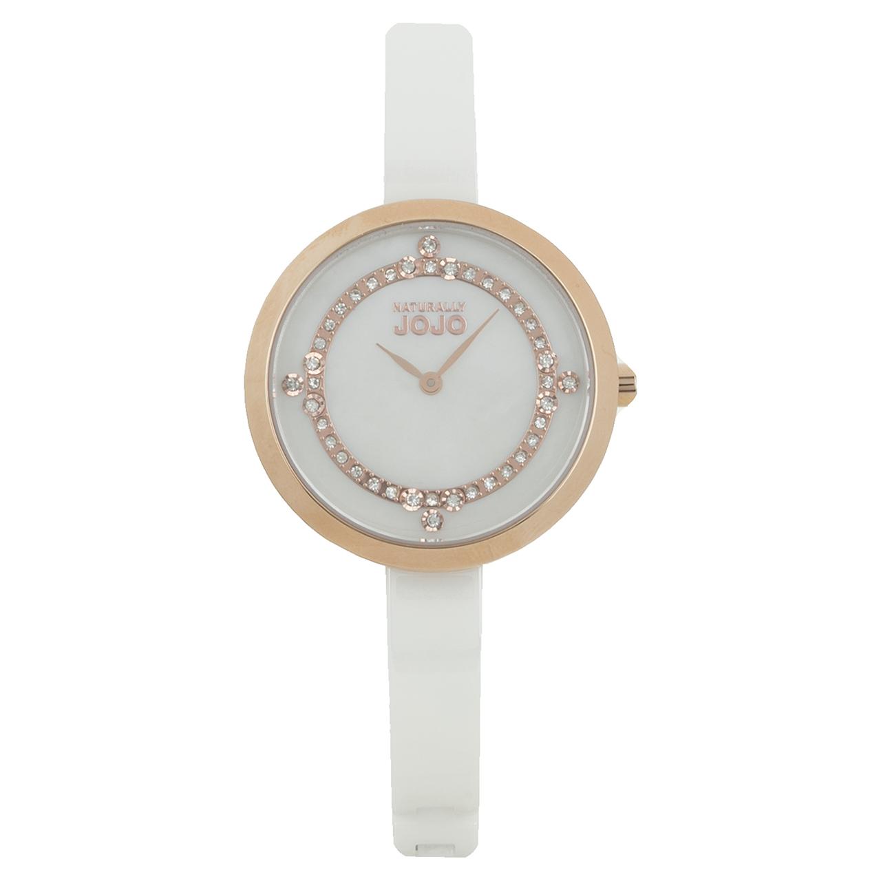 ساعت مچی عقربه ای زنانه نچرالی ژوژو مدل JO96874.81R