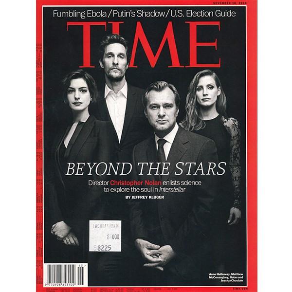 مجله تایم - دهم نوامبر اکتبر 2014